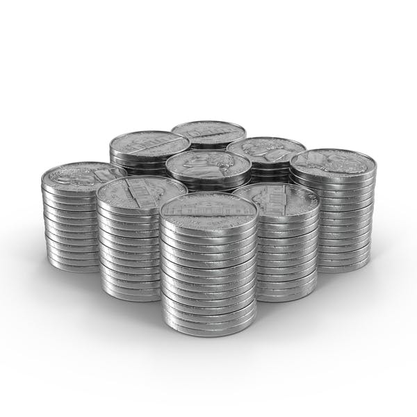 Thumbnail for Stacks of Nickels