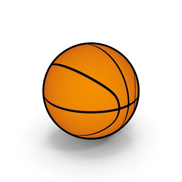 Cartoon Basketball