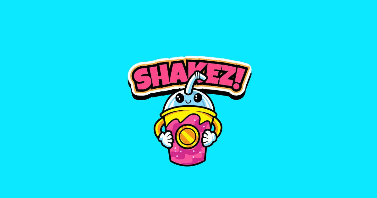 Download Shake - Mascot Logo by aqrstudio