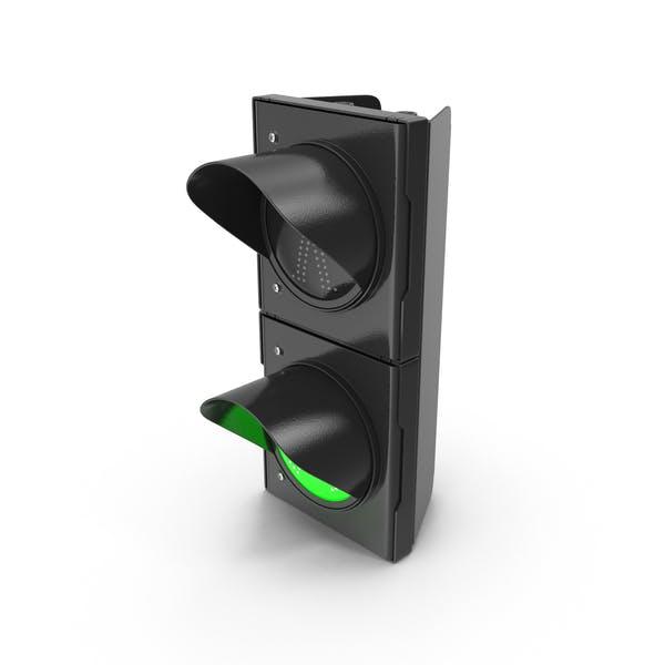 Traffic Light Pedestrian Green