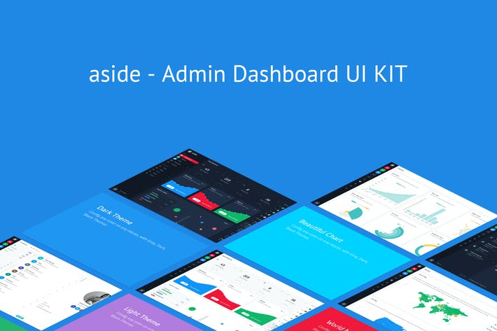 Thumbnail for aside - Admin Dashboard UI KIT