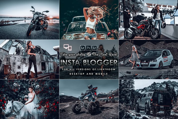 Thumbnail for INSTA Blogger Presets (Mobile & Desktop)