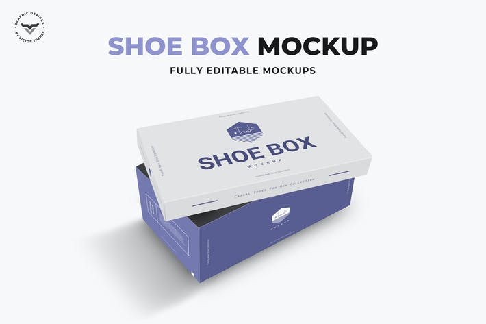 Thumbnail for Shoe Box Mockups