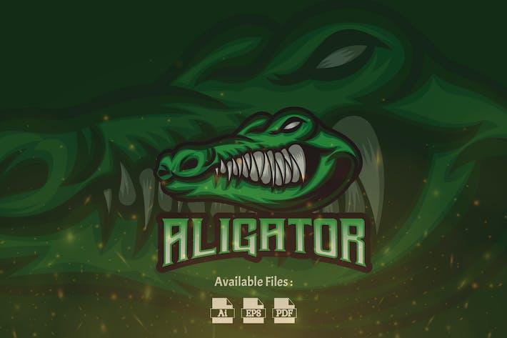 Aligator Sport and Esport Logo Template