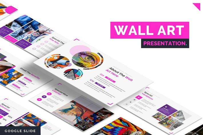 Thumbnail for Walt Art Decor - Google Slide Template