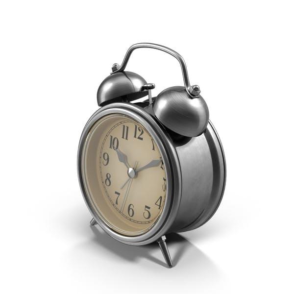 Chrome Alarm Clock