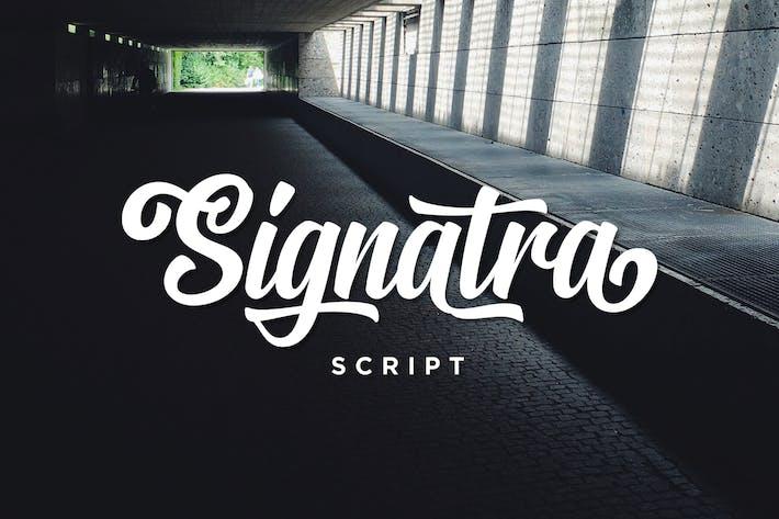 Thumbnail for Guión de Signatra
