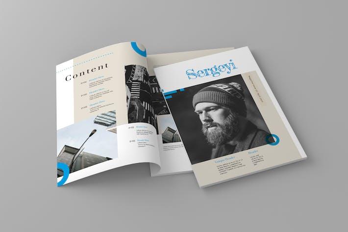 Thumbnail for Sergeyi - Magazine Template