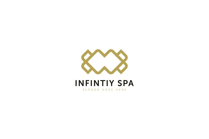 Thumbnail for Infinity Spa Logo Template