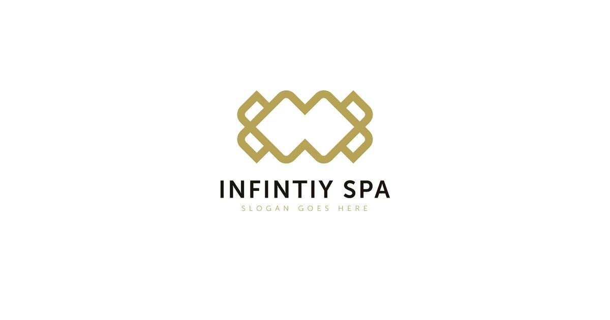 Infinity Spa Logo Template by Pixasquare