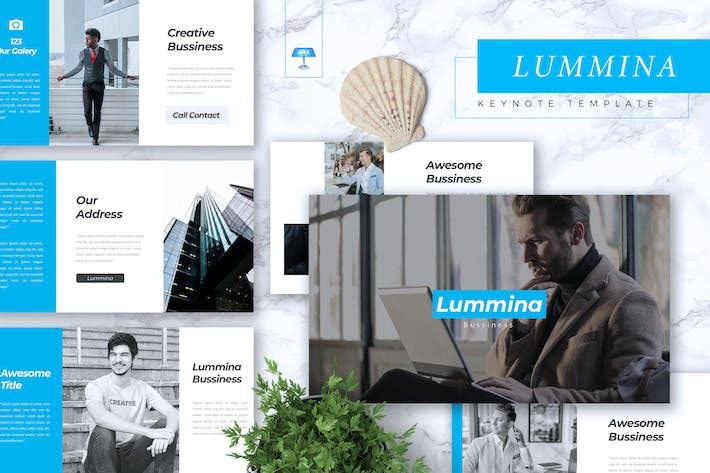 Thumbnail for LUMMINA - Business Keynote Template