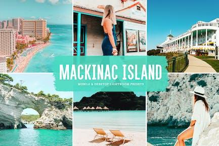 Пресеты Lightroom для мобильных и настольных ПК на острове Макино
