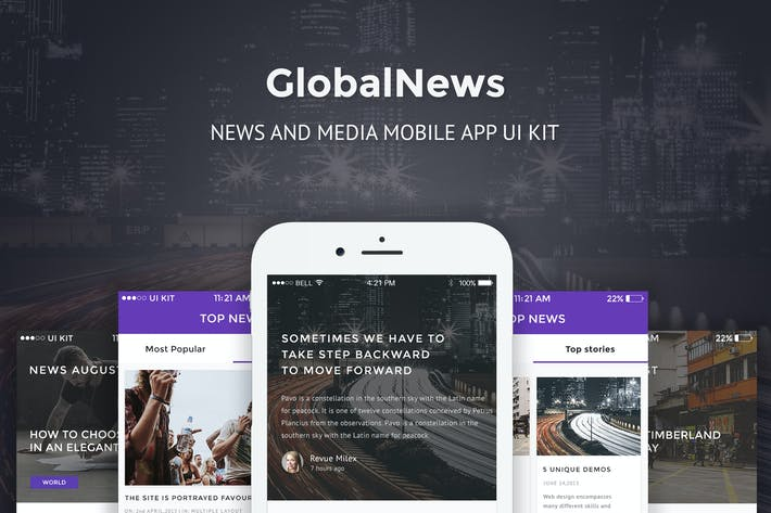 Thumbnail for GlobalNews - News and Media Mobile APP