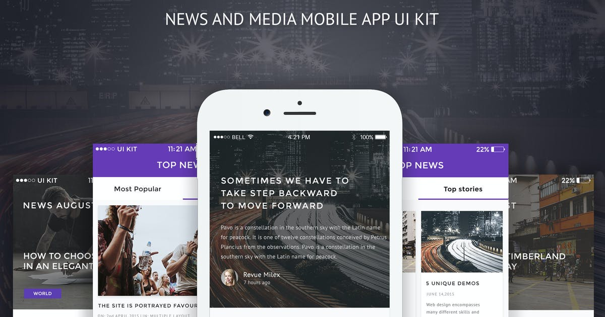 Download GlobalNews - News and Media Mobile APP by themepassion