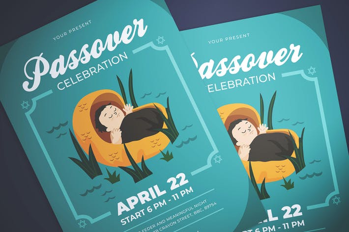 Thumbnail for Passover Celebration Flyer