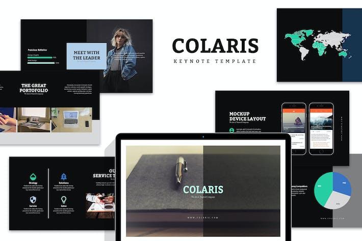 Thumbnail for Colaris : Minimal Business Profile Keynote