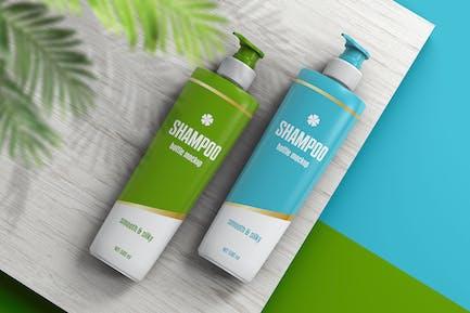 Shampoo Bottle Mockup