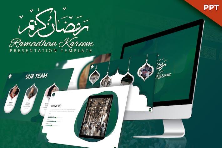 Thumbnail for Ramadhan Kareem - Powerpoint Template