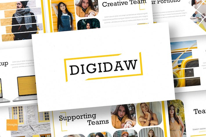 Cover Image For Digidaw - Google Slides Template