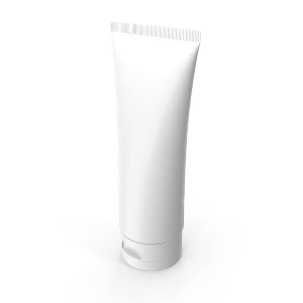Botella de gel blanco