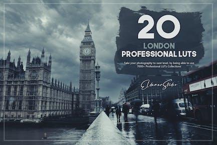 20 London LUTs Pack