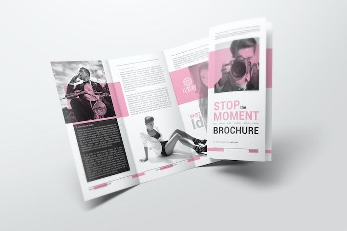 Thumbnail for DL Trifold Brochure Mockups