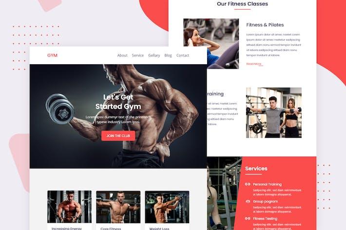 Thumbnail for Fitness - Email Newsletter