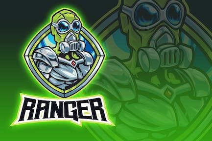 Green Ranger Esport Logo