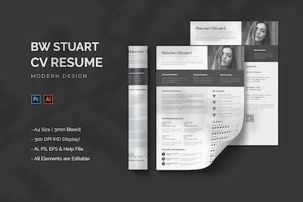 BW Stuart - CV Resume