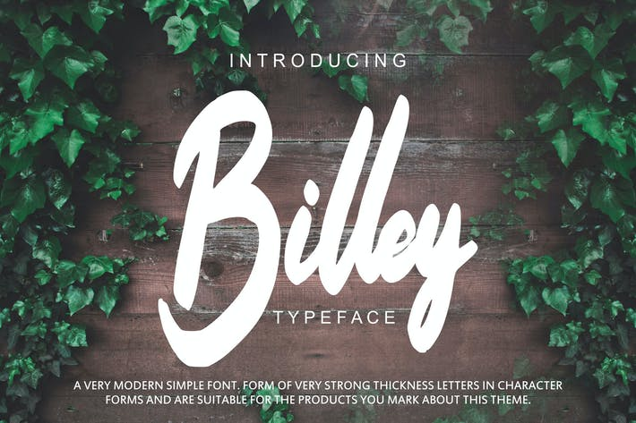Thumbnail for Billey - Handwritten Script