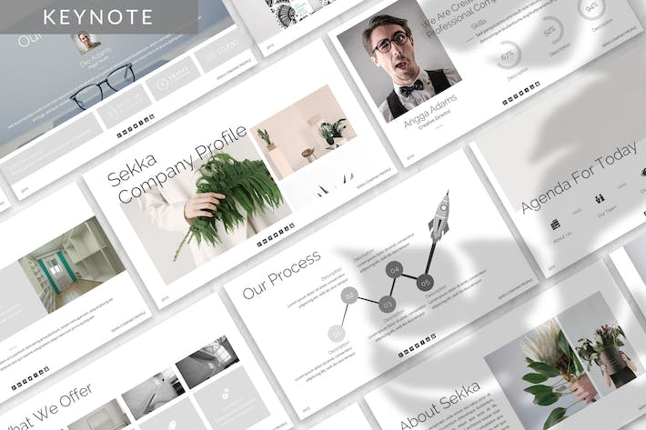 Thumbnail for Sekka - Business Keynote Template