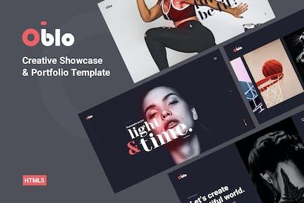 Oblo - Showcase Portfolio Template