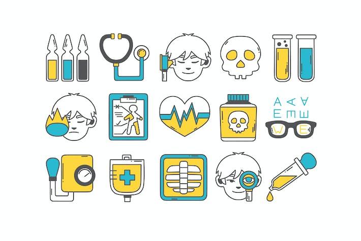 Thumbnail for Health Checkup Icons