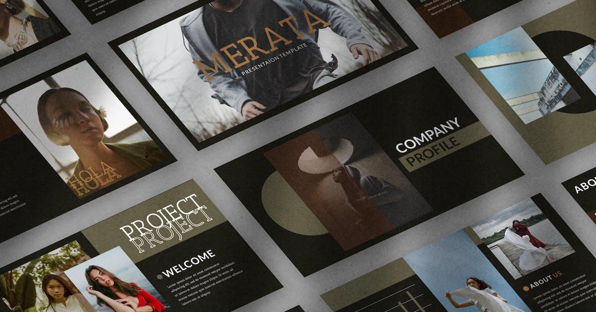 Download Merata - Keynote Template by eztudio