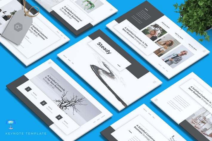 Thumbnail for STEADY - Business Keynote Template