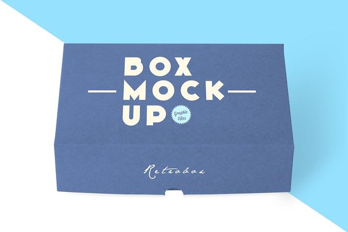 Thumbnail for Boîte de couleurs Mock Up