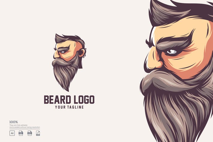 Thumbnail for BEARD LOGO DESIGN