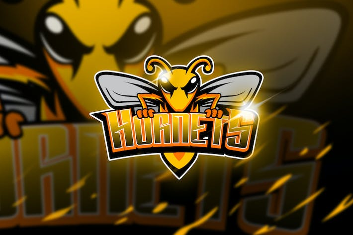Thumbnail for Hornets - Mascot & Logo Esport