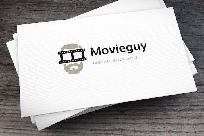 Thumbnail for Movie Guy Logo Template