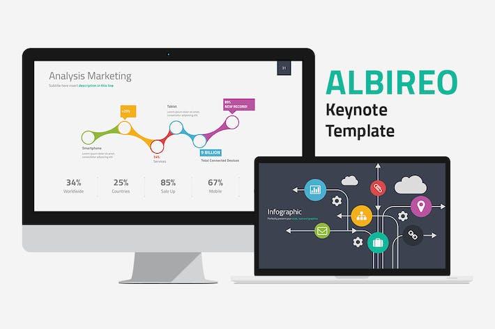 Thumbnail for Albireo Keynote Template