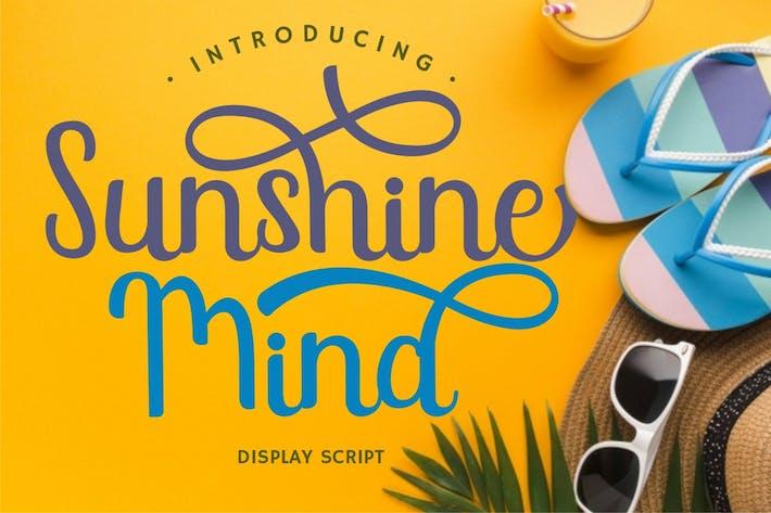 Thumbnail for Sunshine Mind - Display Script Font