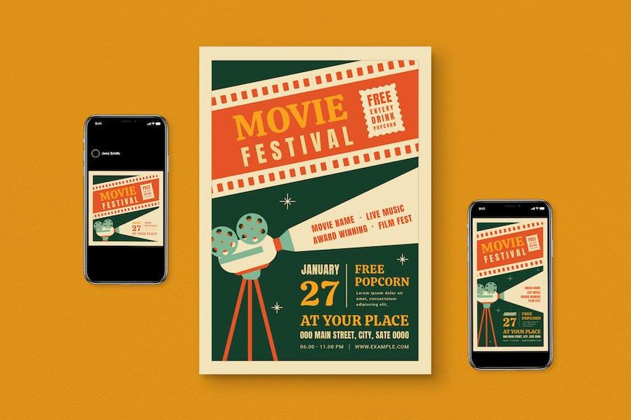 Movie Festival Flyer Pack