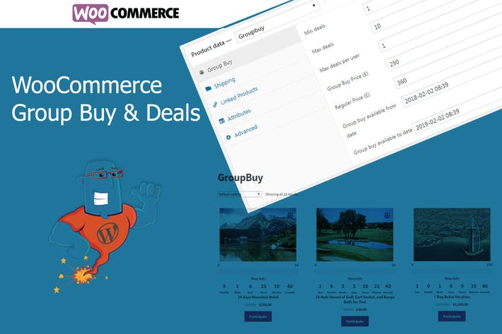 Thumbnail for WooCommerce Group Buy and Deals - Groupon Clone fo