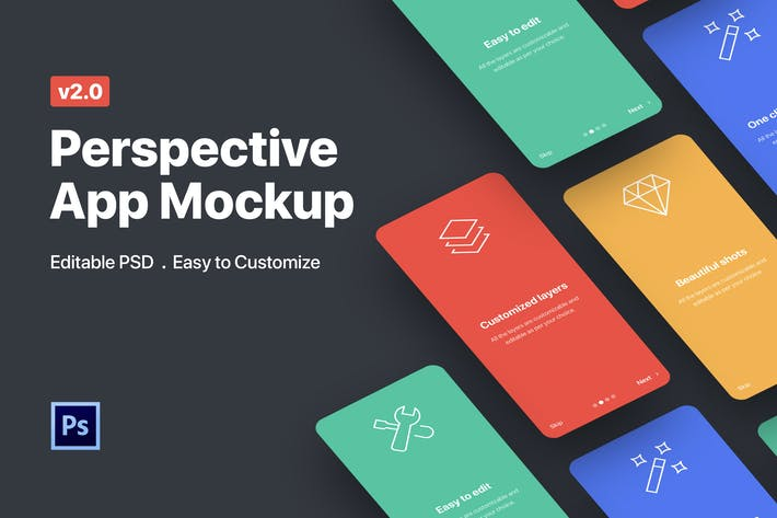 Thumbnail for Perspective App Mockup 2.0