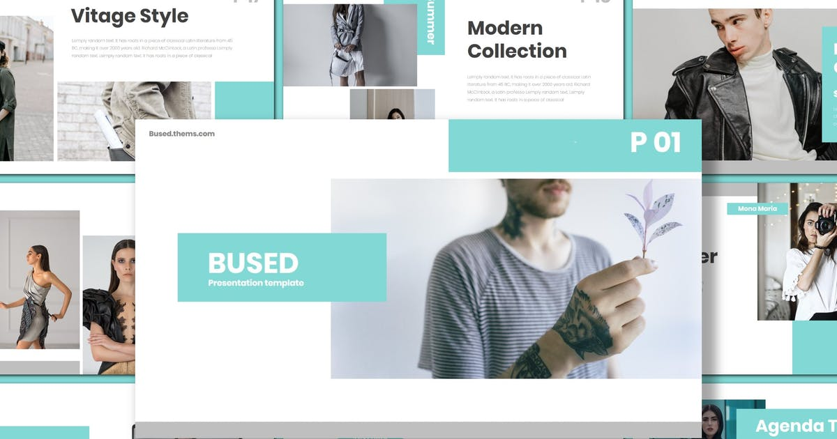 Download Bused - Keynote Template by inspirasign