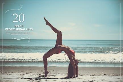 Набор 20 пляжных LUT