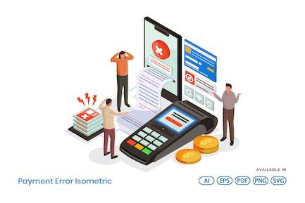 Payment Error Isometric