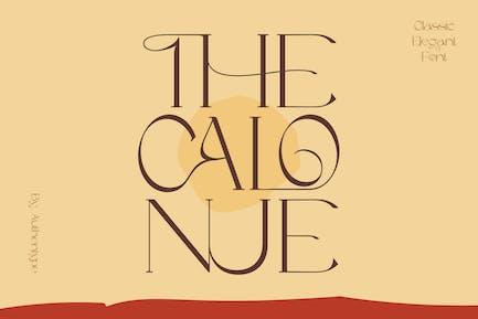 The Calonue - Classic Font