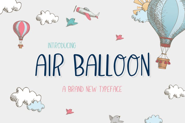 Thumbnail for Air Ballon Font