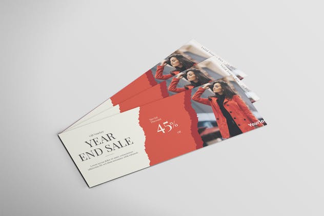 Fashion Sale - Voucher Design